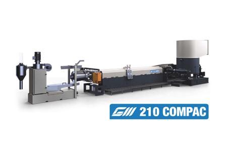 Линии COMPAC служат для переработки полимеров
