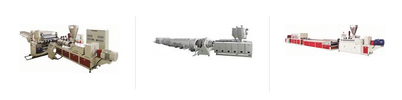 Экструзионные линии для производства профильных изделий Экструзионные линии для производства труб Экструзионные линии для производства изделий из ДПК