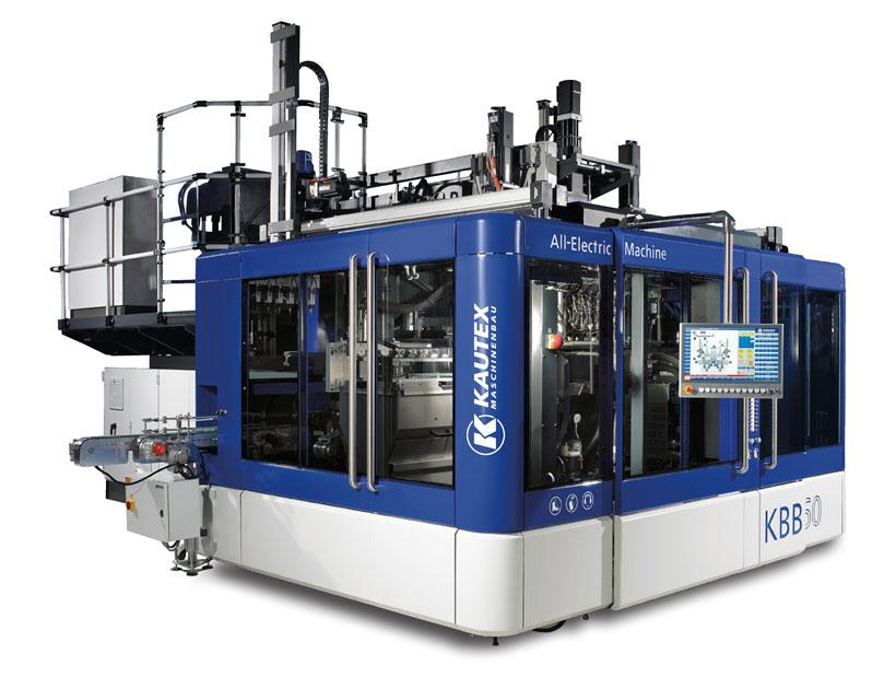 Полностью электрические машины Kautex Maschinenbau серии KBB