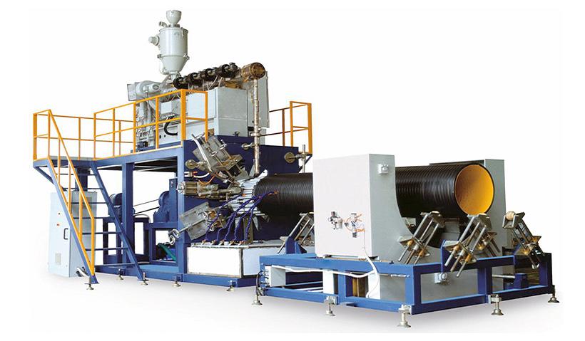 Liansu Machinery: линия для производства спиральновитых пластиковых труб