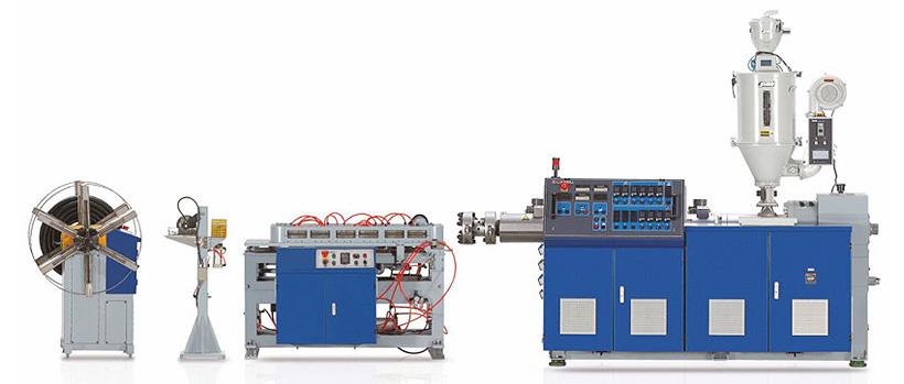Liansu Machinery: линия производства одностенных гофрированных труб
