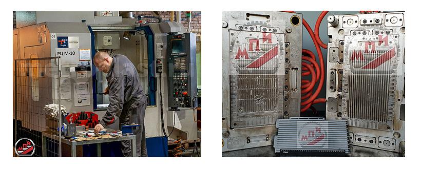 Запуск пресс-формы и отладка литьевых режимов на производстве заказчика