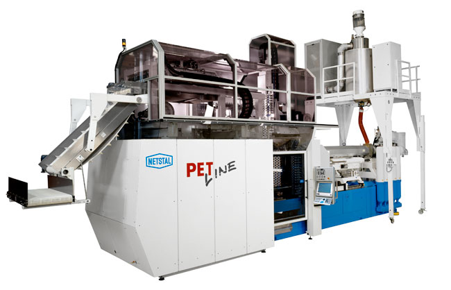 Netstal injection molding machines PET line