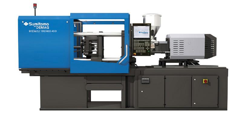 Полностью электрический ТПА Sumitomo (SHI) Demag Plastics Machinery серии IntElect2 100/460-450