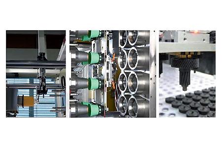 WITTMANN Кроме стандартных решений, возможна разработка специальных автоматизированных систем для скоростного извлечения изделий из пресс-формы или для IML технологии