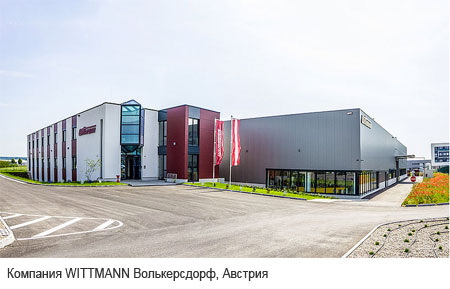 Компания WITTMANN Волькерсдорф, Австрия