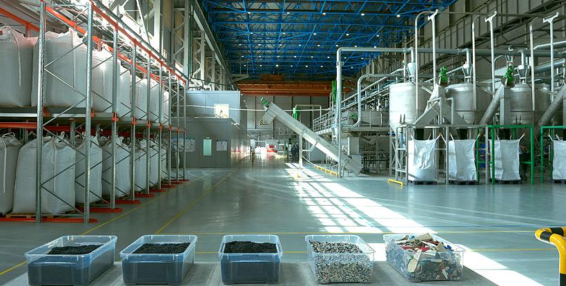 Завод «Экопласт»: переработка вторичных полимеров АБС (ABS), ПС (PS), ПП (PP)