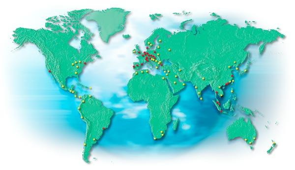 Международная сеть ARBURG